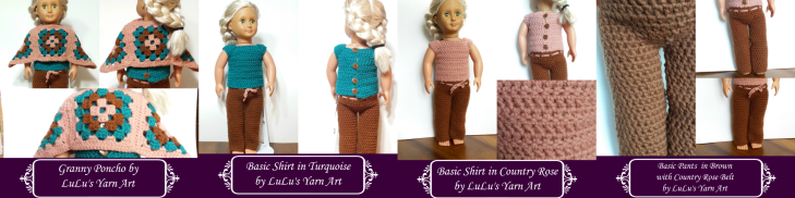 Doll Clothes Collage