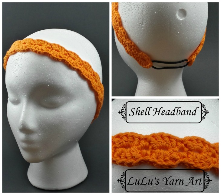Shell Headband Collage