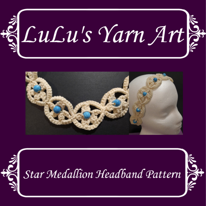 Star Medallion Headband Pattern